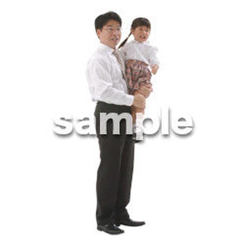 人物切抜き素材 ファミリー編 F_087