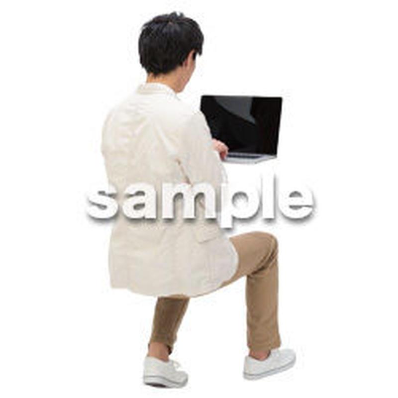 Cutout People ビジネス-日本人 EE_519