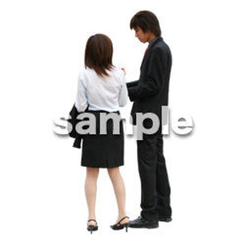 人物切抜き素材 オフィス・フォーマル編 G_041
