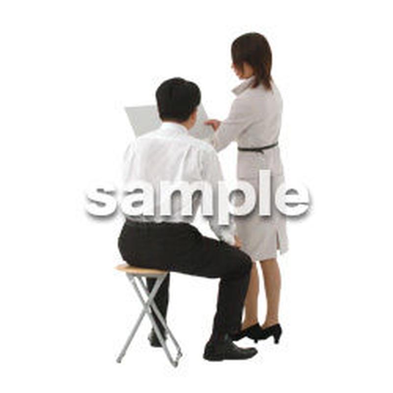 人物切抜き素材 オフィス・フォーマル編 G_058