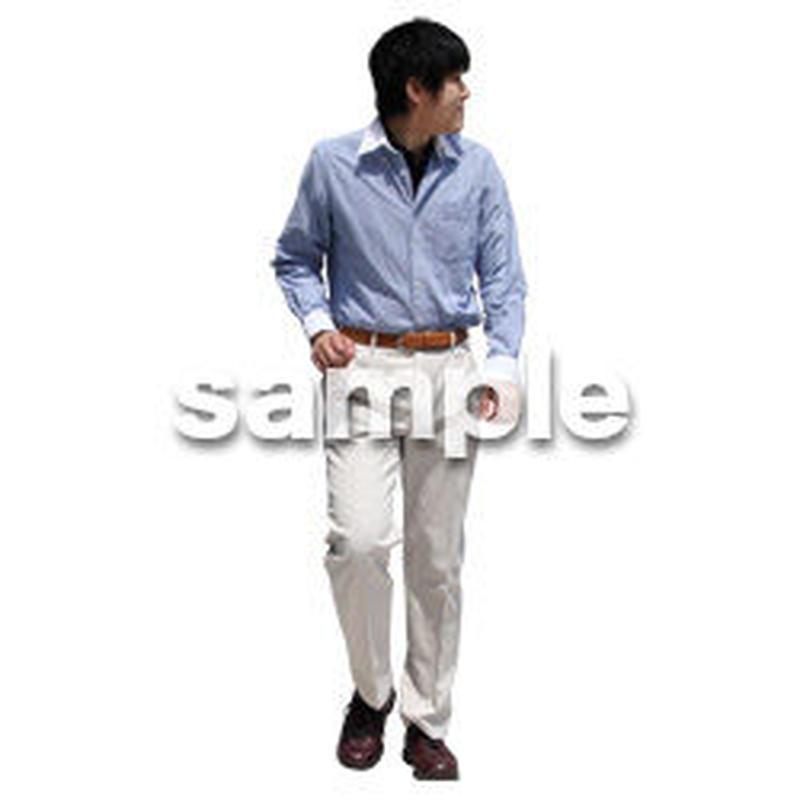 人物切抜き素材 ベーシックファッション編 P_366