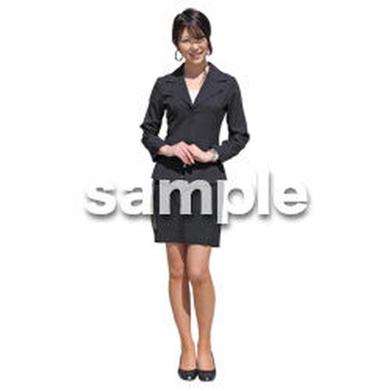 人物切抜き素材 ベーシックファッション編 P_286