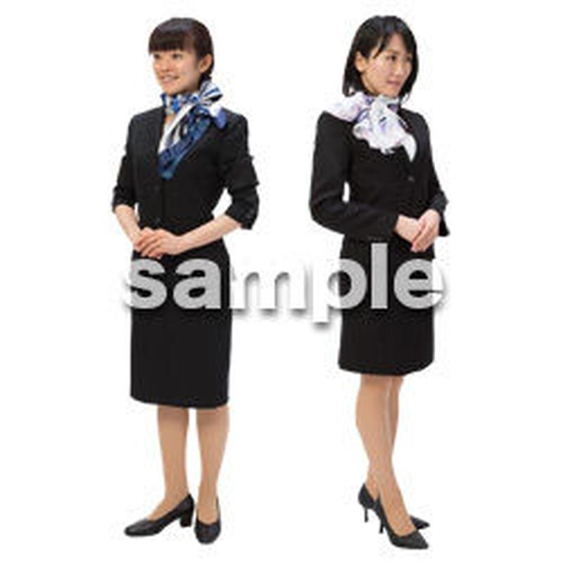 Cutout People ビジネス-日本人 EE_102