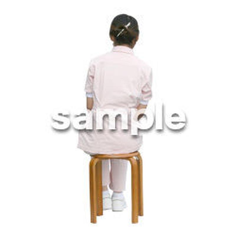 人物切抜き素材 医療・シニア車椅子編 D_114
