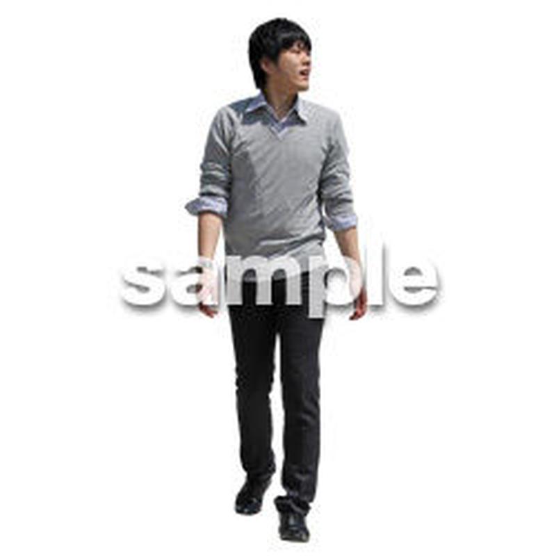 人物切抜き素材 ベーシックファッション編 P_356