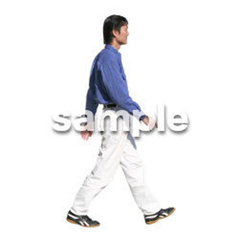 人物切抜き素材 カジュアル・ショッピング編 E_197