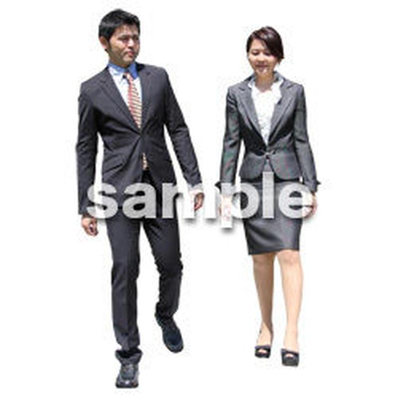 人物切抜き素材 ベーシックファッション編 P_066