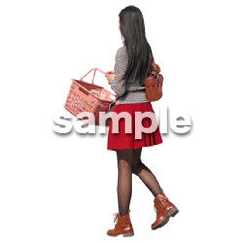 人物切抜き素材 レジャー・ショッピング編 L_204