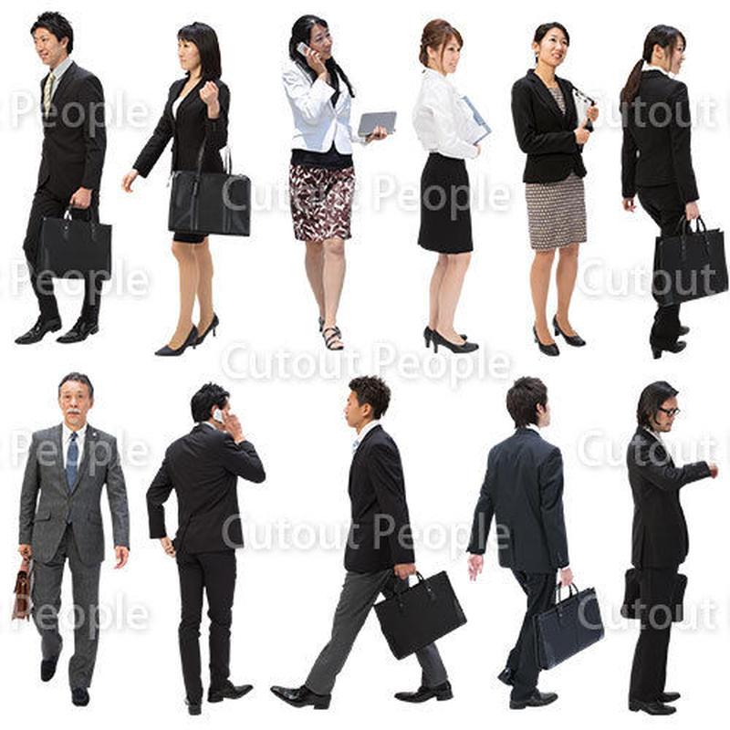 人物切抜きセット☆ビジネス・日本人 1_set093