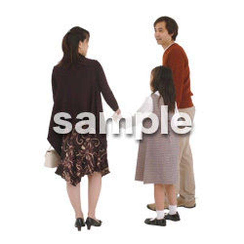人物切抜き素材 ファミリー編 F_060