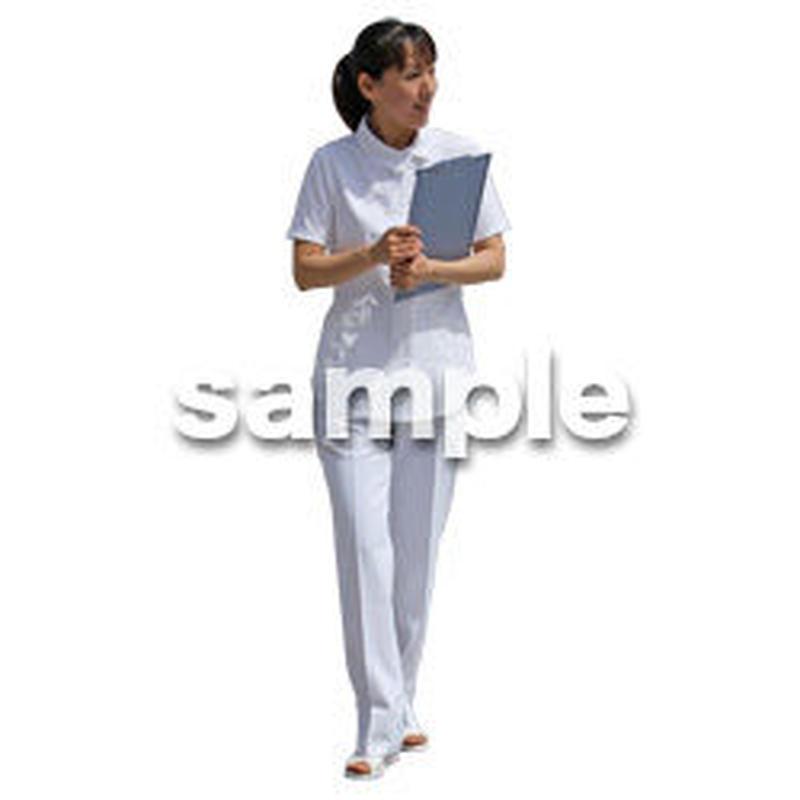 人物切抜き素材 シニア介護編 S_310