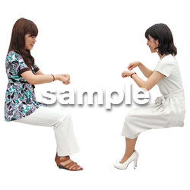 人物切抜き素材 アーバン・ショッピング編 M_359