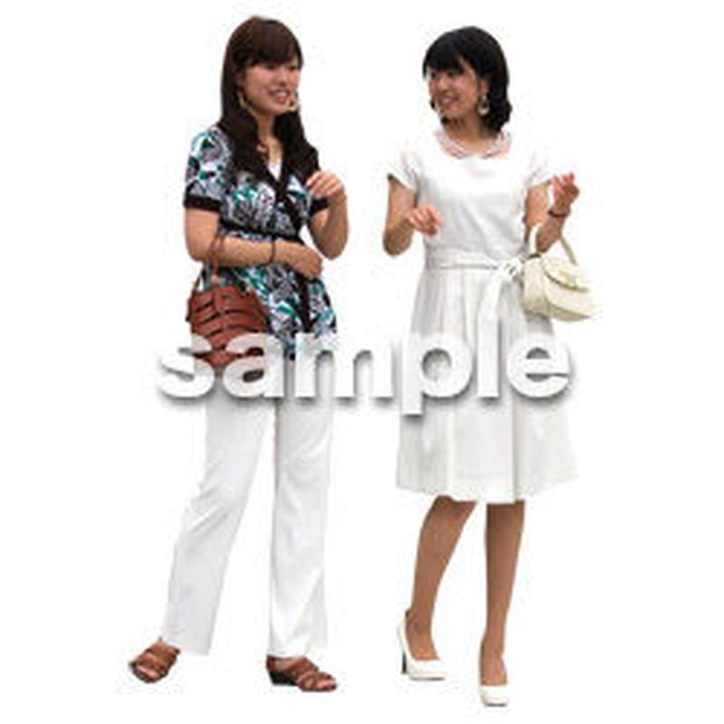 人物切抜き素材 アーバン・ショッピング編 M_060