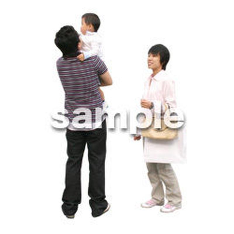 人物切抜き素材 カジュアル・ショッピング編 E_158