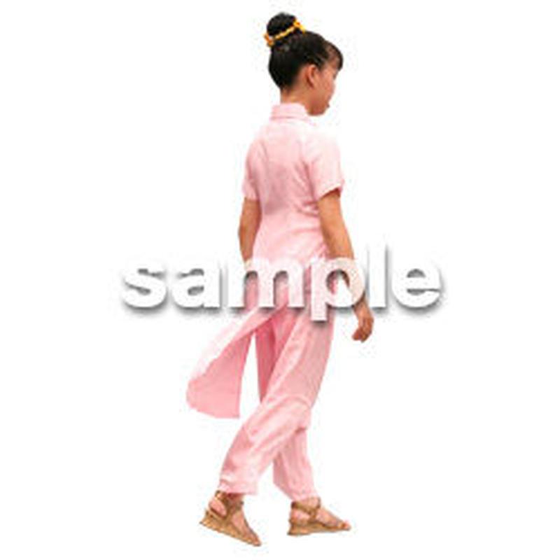 人物切抜き素材 夏服・フィットネス編 J_278