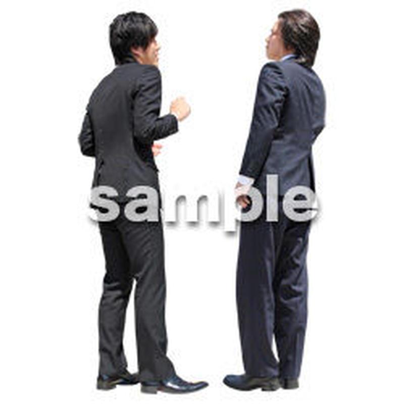 人物切抜き素材 ベーシックファッション編 P_079