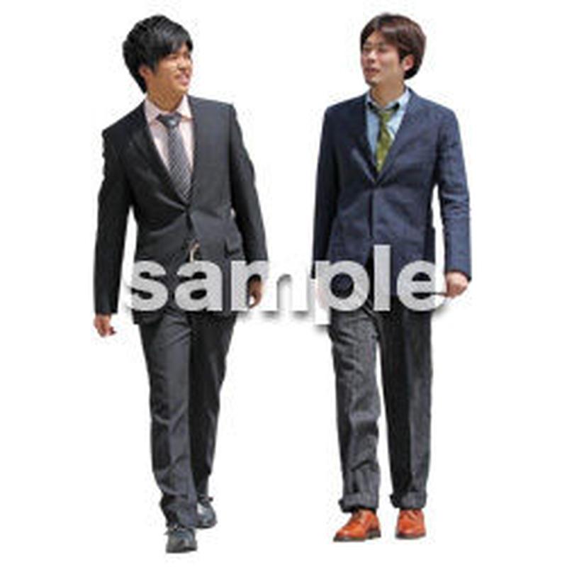 人物切抜き素材 ベーシックファッション編 P_071