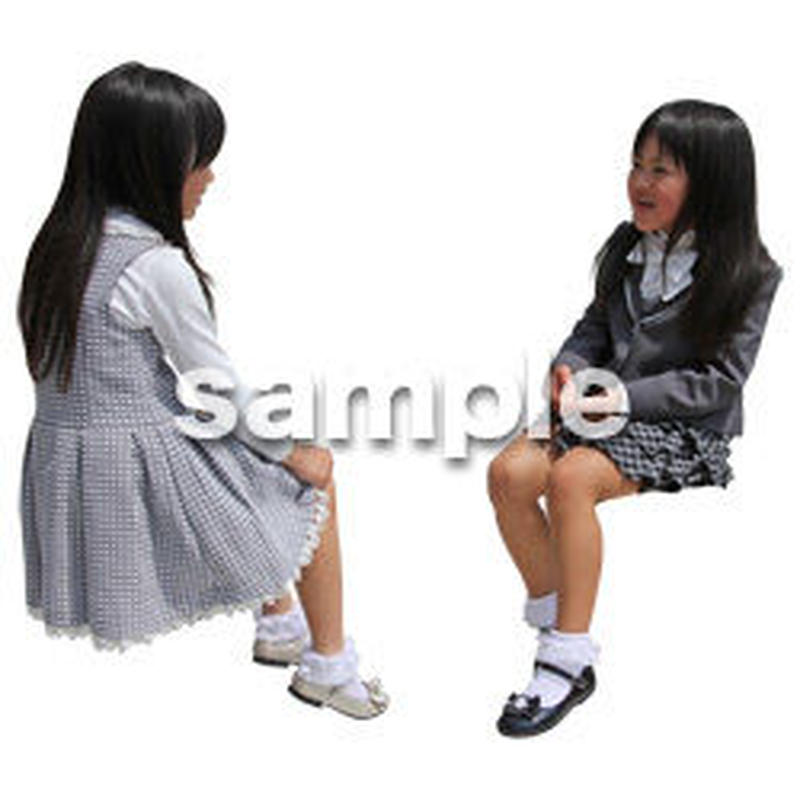 人物切抜き素材 アーバン・ショッピング編 M_363