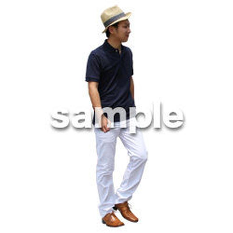 人物切抜き素材 レジャー・ショッピング編 L_363