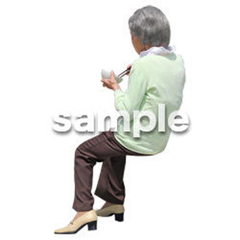 人物切抜き素材 シニアライフ編 R_404