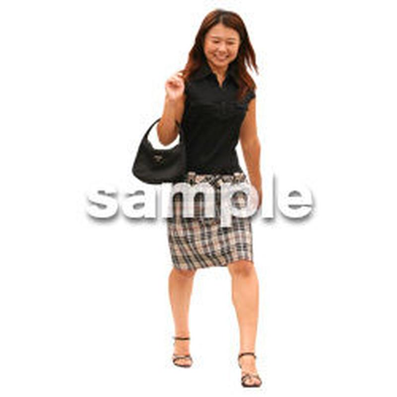人物切抜き素材 夏服・フィットネス編 J_199