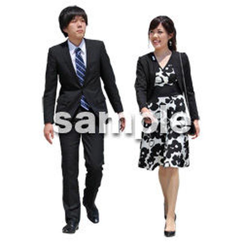 人物切抜き素材 ベーシックファッション編 P_056