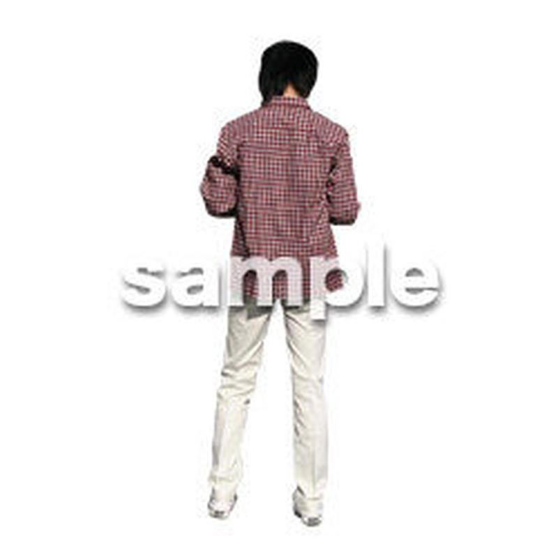 人物切抜き素材 カジュアル・ショッピング編 E_218