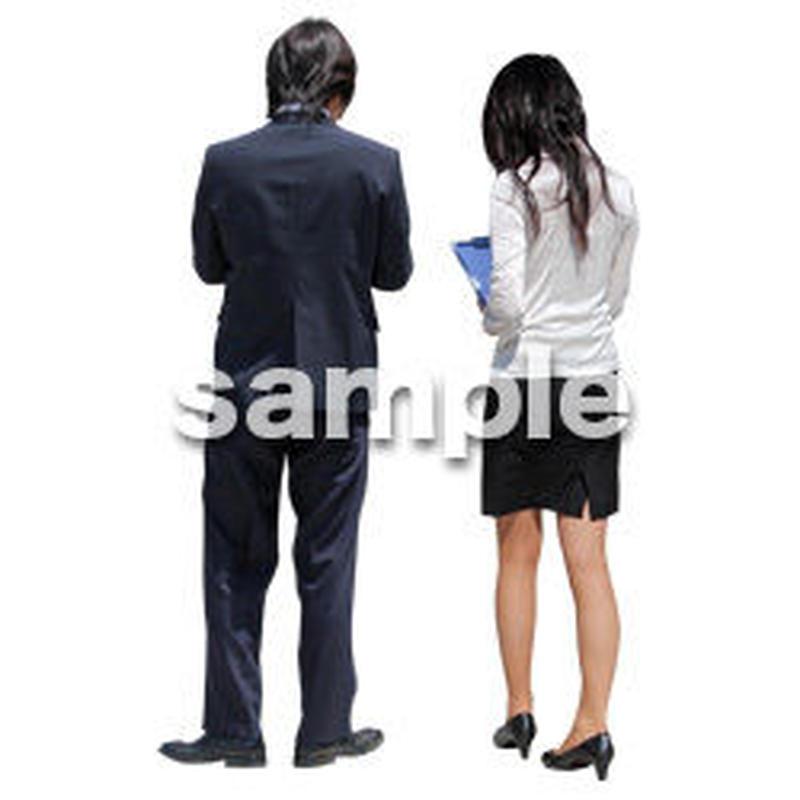 人物切抜き素材 ベーシックファッション編 P_055