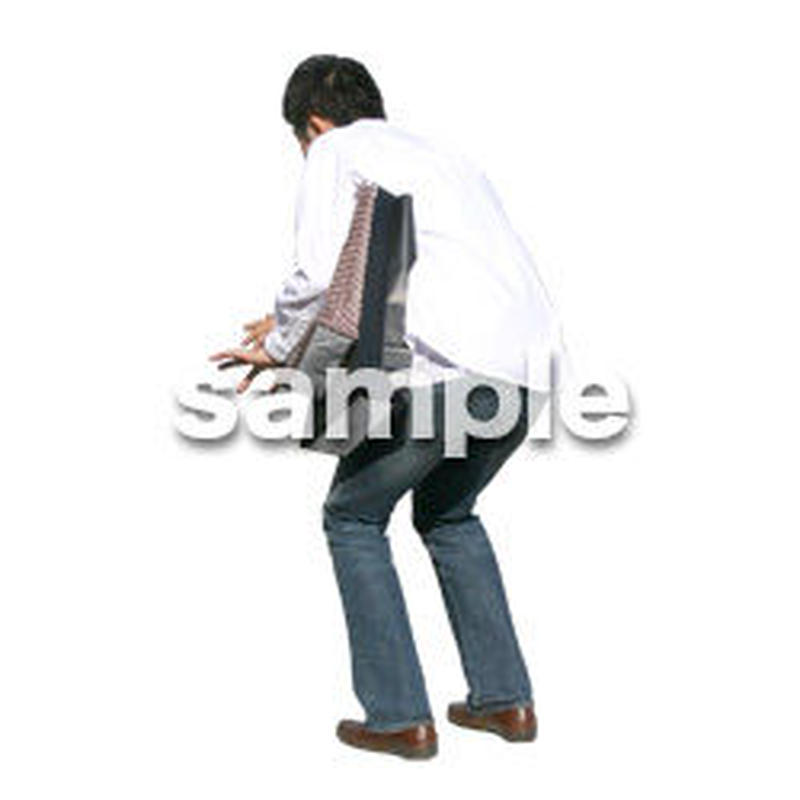 人物切抜き素材 カジュアル・ショッピング編 E_193