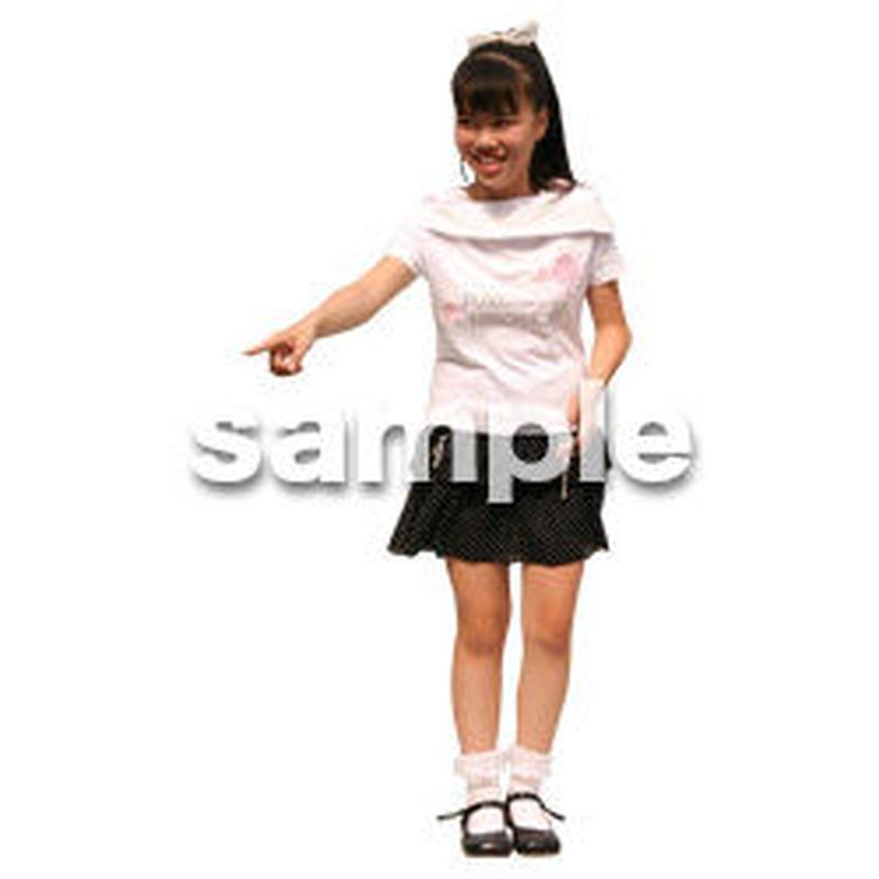 人物切抜き素材 夏服・フィットネス編 J_272