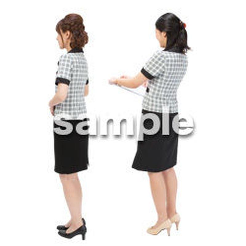 Cutout People ビジネス-日本人 EE_094
