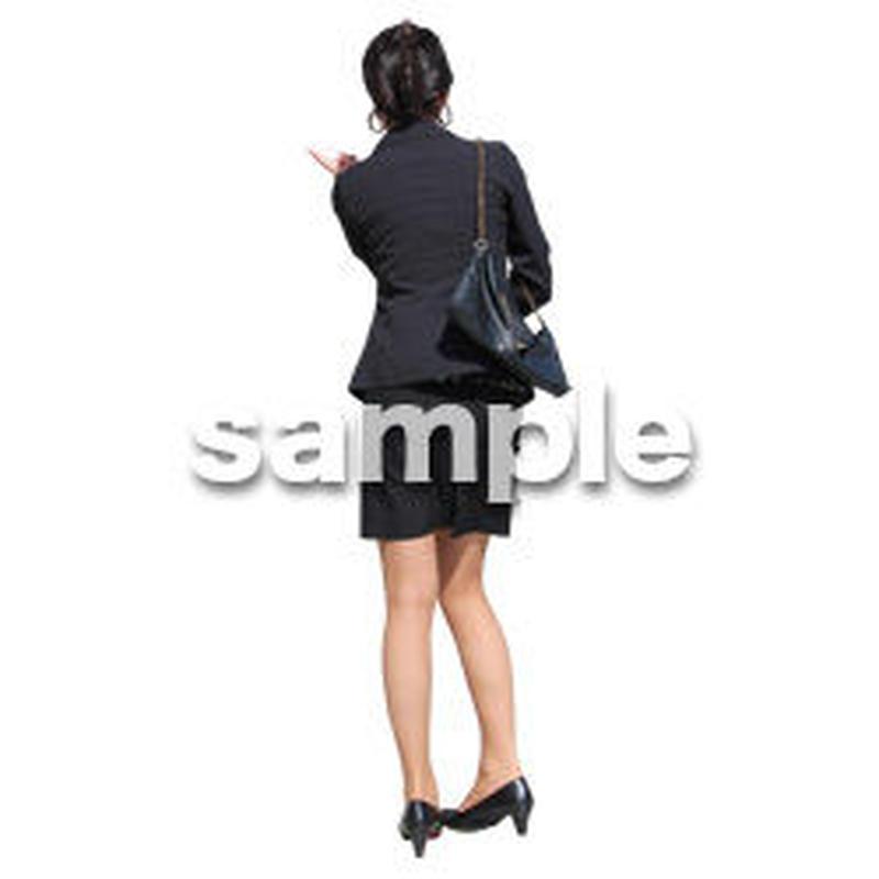 人物切抜き素材 ベーシックファッション編 P_285