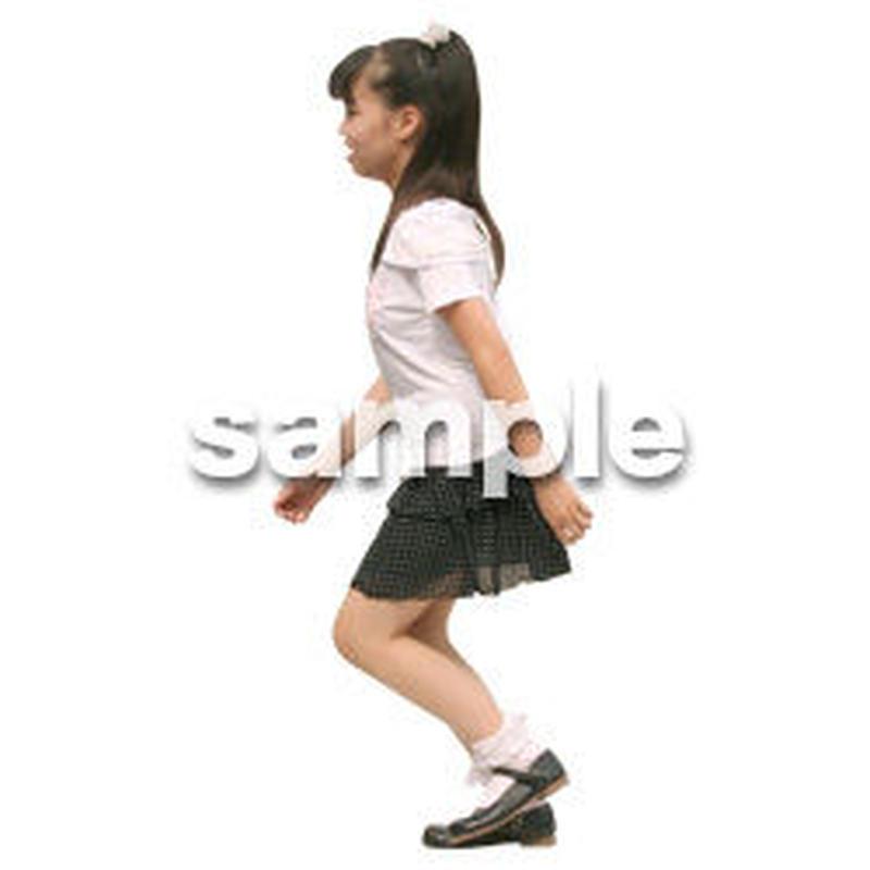 人物切抜き素材 リビング・散歩編 I_445