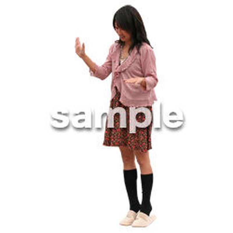 人物切抜き素材 リビング・散歩編 I_250