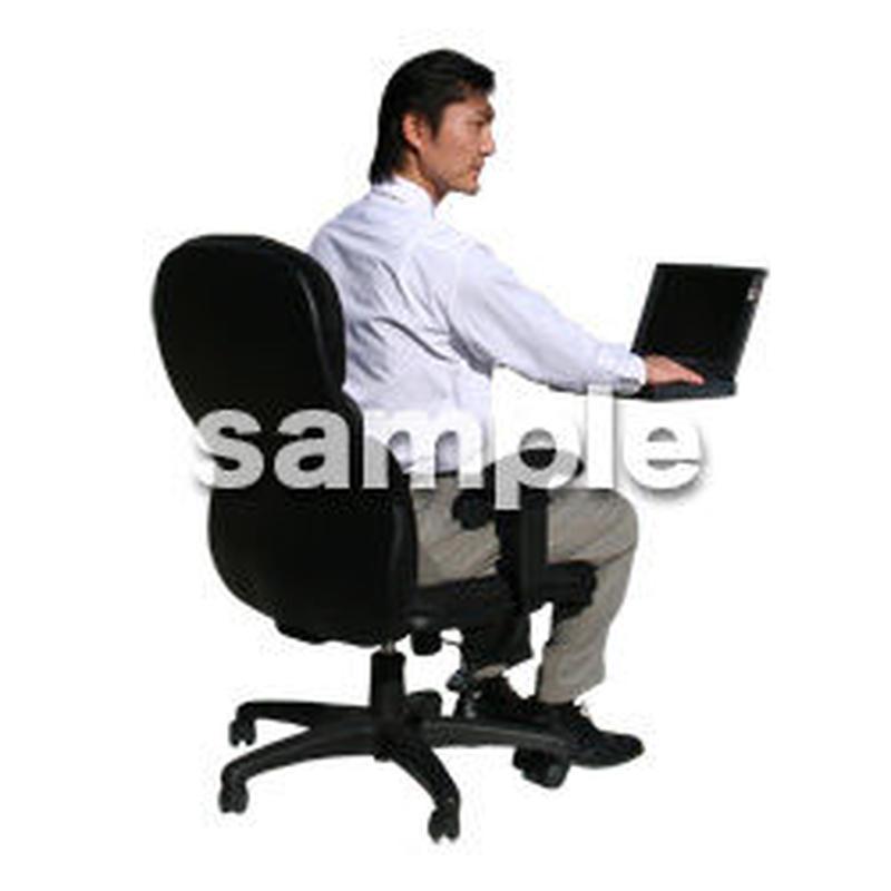 人物切抜き素材 オフィス・フォーマル編 G_171