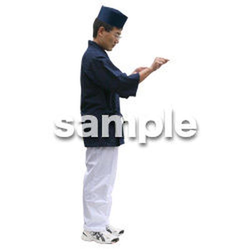 人物切抜き素材 ワーキング編 K_207