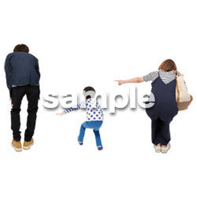 Cutout People ファミリー GG_185