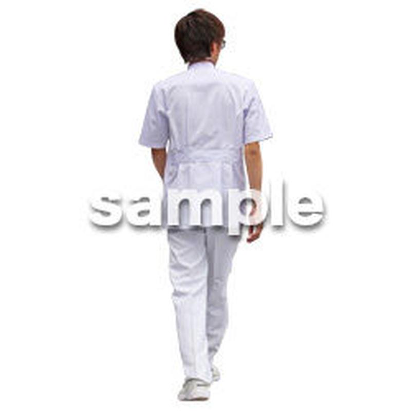 人物切抜き素材 シニア介護編 S_329