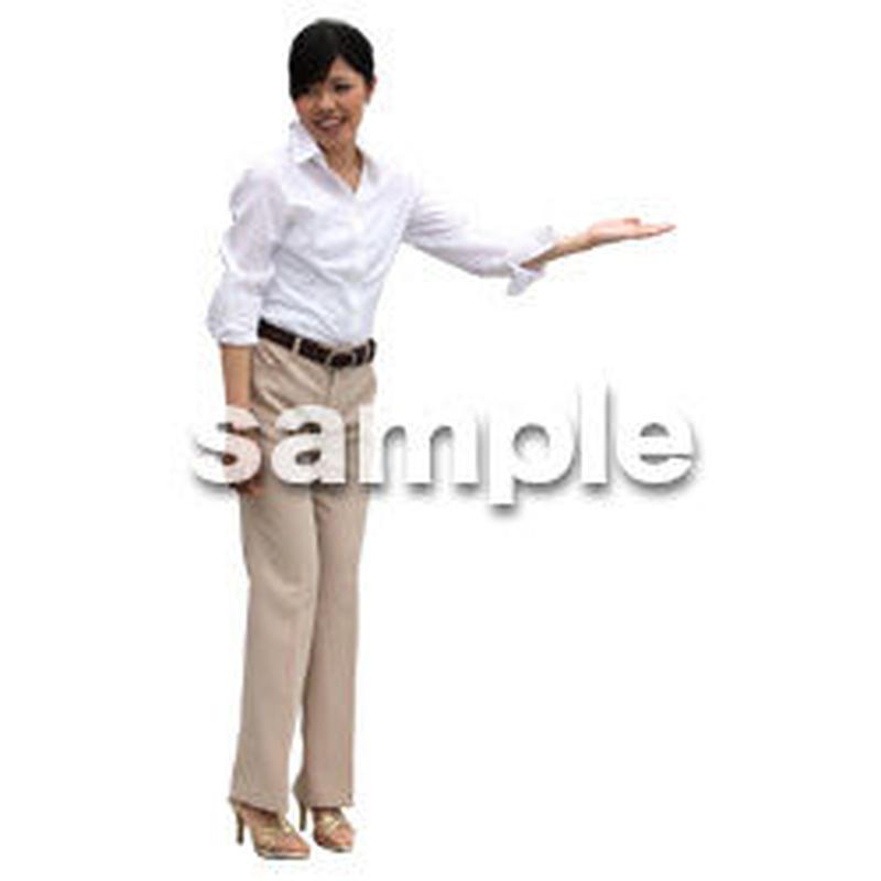 人物切抜き素材 アーバン・ショッピング編 M_223