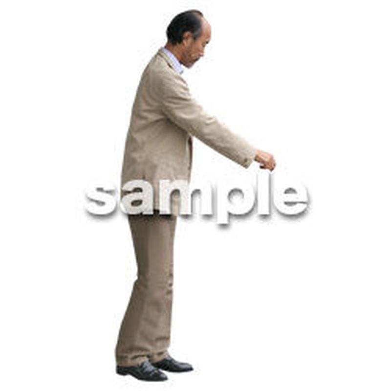 人物切抜き素材 リビング・散歩編 I_121