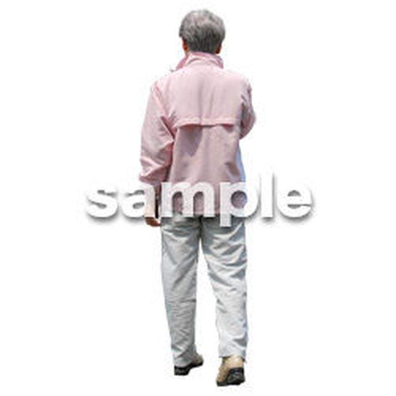 人物切抜き素材 シニアライフ編 R_175