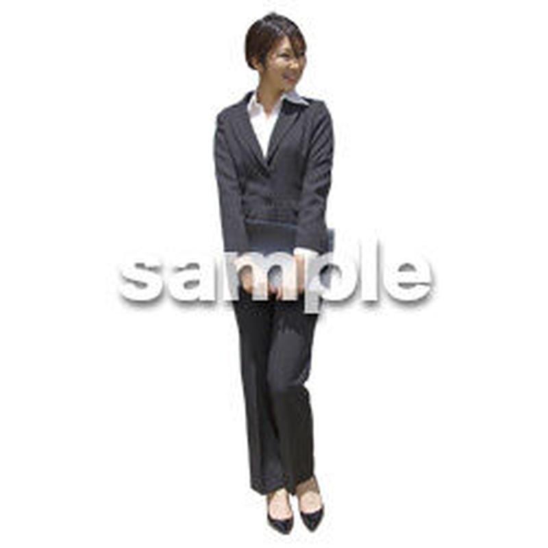 人物切抜き素材 ベーシックファッション編 P_271