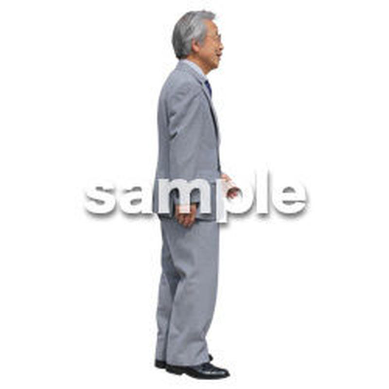 Cutout People ビジネス-日本人 EE_253
