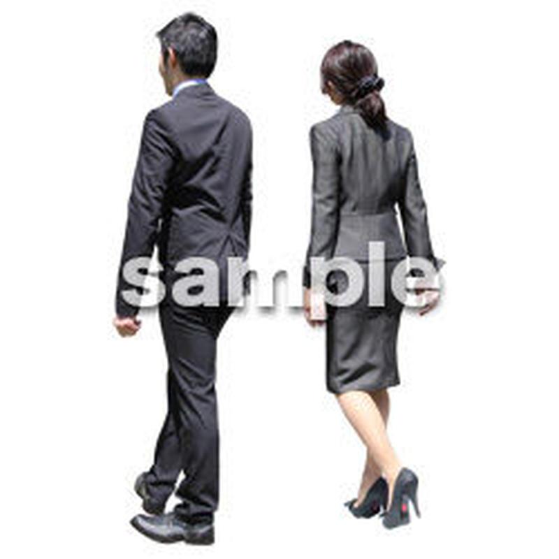 人物切抜き素材 ベーシックファッション編 P_069