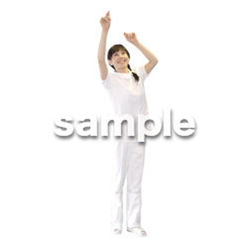 人物切抜き素材 医療・シニア車椅子編 D_125