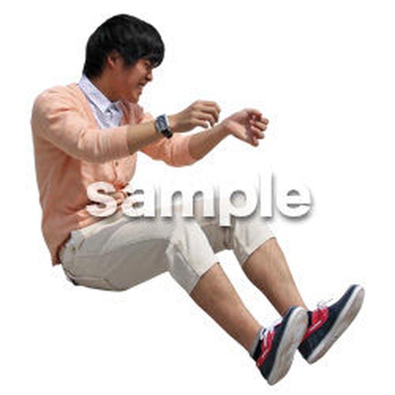 人物切抜き素材 レジャー・ショッピング編 L_498