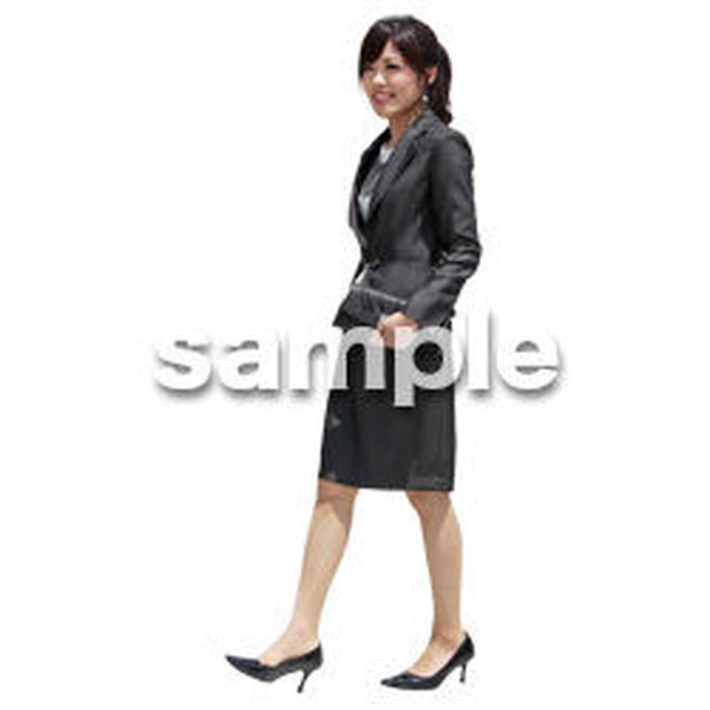 人物切抜き素材 ベーシックファッション編 P_262