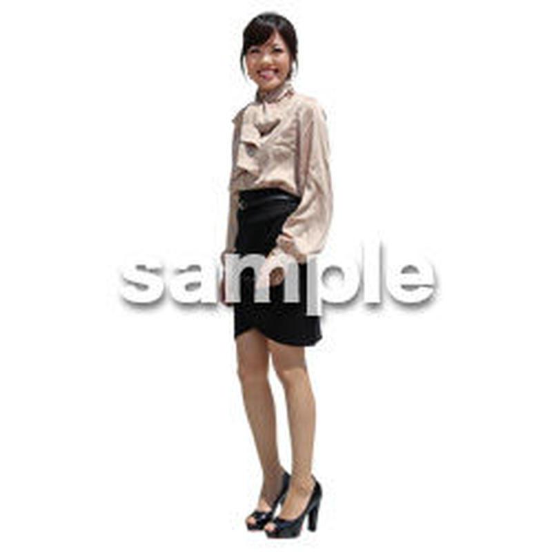 人物切抜き素材 ベーシックファッション編 P_157