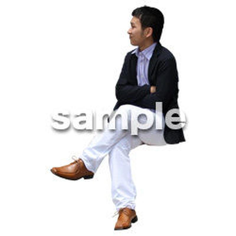 人物切抜き素材 アーバン・ショッピング編 M_473
