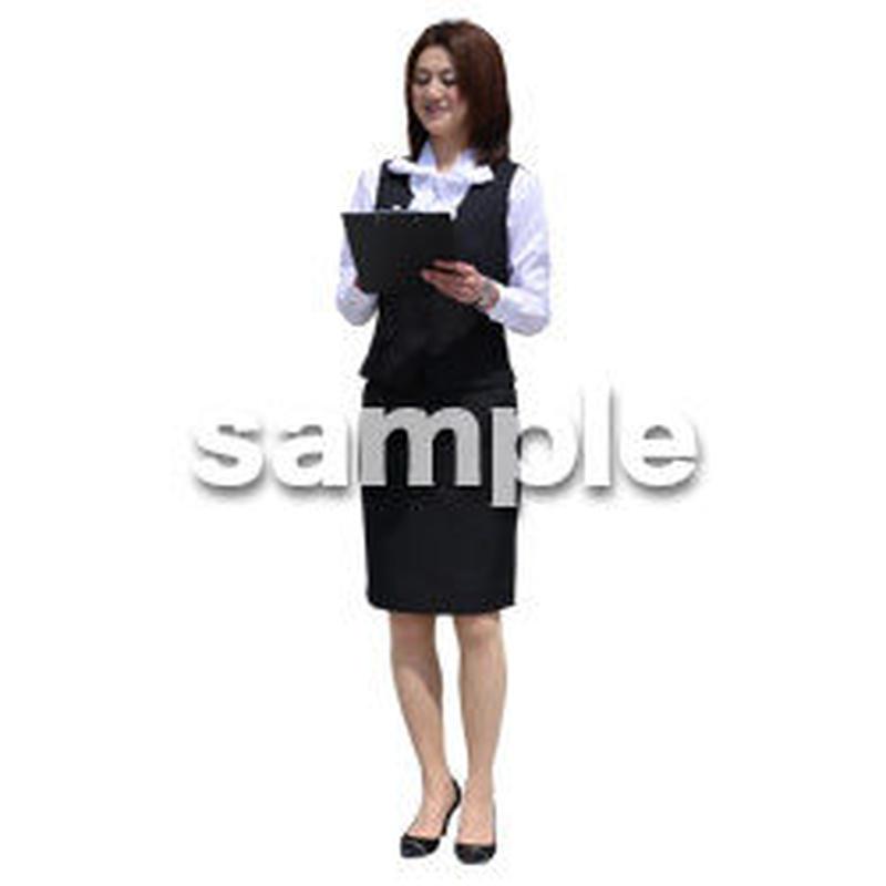 Cutout People ビジネス-日本人 EE_416